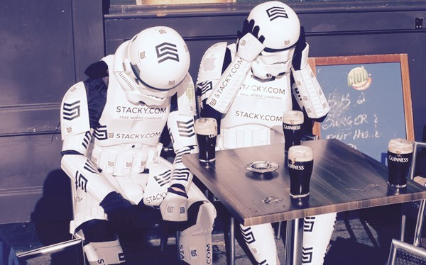 STACKY stormtroopers